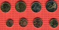 KMS 3,88 Euro 2007 Slowenien Kursmünzensatz lose 8 Münzen bankfrisch  10,00 EUR  Excl. 8,50 EUR Verzending