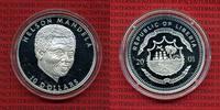 10 Dollars Silbermünze 2001 Liberia Liberia 10 Dollars 2001 Nelson Mand... 29,00 EUR  + 8,50 EUR frais d'envoi