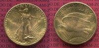 USA 20 Dollars Gold St. Gaudens Double Eagle USA 20 Dollars 1924 Gold St. Gaudens Typ Double Eagle Gold