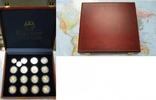 250 bis 1000 Francs CFA Silber ohne Jahr Togo Togo Münzensatz Deutsche ... 179,00 EUR  + 8,50 EUR frais d'envoi