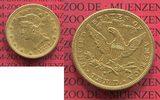10 Dollars Goldmünze Eagle Coronet Head 1881 USA USA 10 Dollars Liberty... 617,28 EUR  +  8,50 EUR shipping
