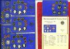 Bundesrepublik Deutschland DM Kursmünzensatz Komplett KMS OVP ADFGJ Kursmünzensatz 1996 A D F G J  in OVP Hartplastik Blau 5 x 10 Münzen 12,68 DM