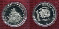 1 Peso Silbermünze 1988 Dominikanische Republik Dominikanische Republik... 35,00 EUR