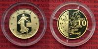10 Euro Gold 2003 Frankreich France Tour de France PP Polierte Platte m... 320,00 EUR  + 8,50 EUR frais d'envoi