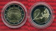 2 Euro Gedenkmünze 2007 Slowenien Römische Verträge Bankfrisch in Kapse... 22,00 EUR  + 8,50 EUR frais d'envoi