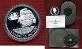 20 Dollars Silbermünze 2001 Kanada Transportmittel, The Marco Polo Schi... 39,00 EUR  + 8,50 EUR frais d'envoi