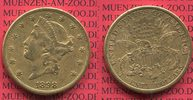 20 Dollars Goldmünze Double Eagle 1898 S USA USA 20 Dollars Liberty, Fr... 1234,56 EUR1209,87 EUR