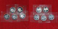 Bundesrepublik Deutschland Satz 5 x 10 DM Silbermünzen 5 x 10 DM 1998 Silber,Westfälischer Friede 1648  , A, D, F, G, J, in Noppenfolie