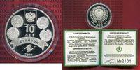500 Tenge Silber 2010 Kasachstan, Kazakhstan 10 Jahre Shanghai Cooperat... 55,00 EUR  + 8,50 EUR frais d'envoi
