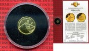 West-Samoa, Western Samoa 10 Dollars Goldmünze, 1/25 Unze Samoa 1995 10 Dollars 1/25 Unze Diskuswerfer Zertifikat Kapsel