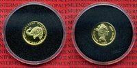 Cook-Inseln, Cook Islands 25 Dollars Goldmünze 1/25 Unze Wildlife Elefant