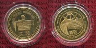 Kuwait 100 Dinar Goldmünze 20 Jahre Unabhängigkeit Gold PP Selten
