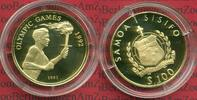 100 Tala Gold 1991 West Samoa West Samoa 100 Tala Gold Gold 1991 Olymis... 287.72 US$ 259,00 EUR  +  9.44 US$ shipping