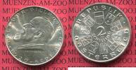 Österreich, Austria 2 Schilling Gedenkmünze Silber Österreich 2 Schilling 1929 Theodor Billroth