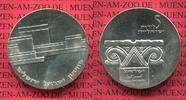 Israel 5 Pfund Silbermünze Israel 5 Pfund Silber 1964 16. Jahrestag Unabhängigkeit Israel Museum