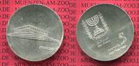 Israel 5 Pfund Silbermünze Commemorative Coin Israel 5 Pfund Silber 1965 17. Jahrestag Unabhängigkeit Knesset
