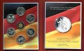 6 x 10 Euro Silber + eine Goldmedaille 2011 BRD Bundesrepublik Deutschl... 200.34 US$ 179,00 EUR  +  9.51 US$ shipping