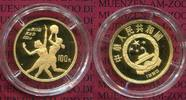 100 Yuan Goldmünze 1/3 Unze 1990 China Volksrepublik PRC China 100 Yuan... 426,12 EUR  +  8,50 EUR shipping