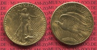 USA 20 Dollars USA Double Eagle St. Gaudens USA 20 Dollars Double Eagle 1925 Gold St. Gaudens Typ vz-prfr.