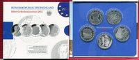 5 x 10 Euro Silber Gedenkmünzenset 2012 Bundesrepublik Deutschland, Ger... 109,00 EUR  zzgl. 4,20 EUR Versand