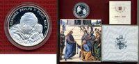Vatikan 10 Euro Silbermünze Vatikan 10 Euro 2003 Johannes Paul II. zum 25. Pontifikatsjahr