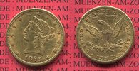 10 Dollars Goldmünze Eagle Coronet Head 1893 S USA USA 10 Dollars Liber... 645,00 EUR