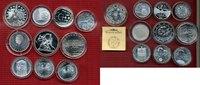 Lot Euro Silber, 10 Münzen 2002 ff Niederlande, Spanien, Portugal, Finl... 140,00 EUR119,00 EUR  +  8,50 EUR shipping