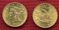 10 Dollars Goldmünze Eagle Coronet Head 1893 USA, United States of Amer... 699,00 EUR