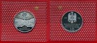 Bundesrepublik Deutschland 10 DM Silbermünze BRD 10 DM 1998 J 300 Jahre Franckesche Stiftungen
