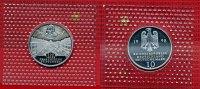 Bundesrepublik Deutschland 10 DM Silbermünze BRD 10 DM 1998 D 300 Jahre Franckesche Stiftungen