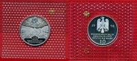 Bundesrepublik Deutschland 10 DM Silbermünze BRD 10 DM 1998 G 300 Jahre Franckesche Stiftungen