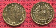 5 Pesos Gold Kursmünze 1925 Kolumbien Columbia Kolumbien 5 Pesos Goldmü... 390,00 EUR  +  8,50 EUR shipping