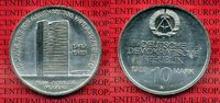 10 Mark DDR Gedenkmünze Cu/Ni 1989 DDR DDR 10 Mark 1989 40 Jahrte RGW, ... 17,00 EUR  + 8,50 EUR frais d'envoi