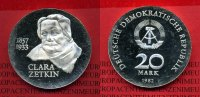20 Mark DDR Silbermünze 1982 DDR GDR Eastern Germany DDR 20 Mark 1982 A... 64,00 EUR  +  8,50 EUR shipping