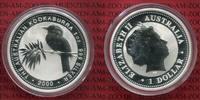1 Dollar Kookaburra 2000 Australien 1 Unze Silber Kookaburra Stempelgla... 33,00 EUR  + 8,50 EUR frais d'envoi