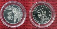 5 Francs Platin 1989 Frankreich, France Fr...