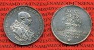 Brandenburg Preußen Königreich Friedrich Wilhelm II. Silbermed. Preußen Friedrich Wilhelm II. 1786-1797. Silbermedaille auf seinen Tod Minden