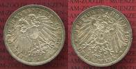 3 Mark Silber Kursmünze 1911 Lübeck City 3 Mark Freie und Hansestadt Lü... 199,00 EUR  +  8,50 EUR shipping