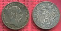 5 Mark Silbermünze 1902 Sachsen, Saxony German Empire Sachsen 5 Mark 19... 166.77 US$ 149,00 EUR  +  9.51 US$ shipping