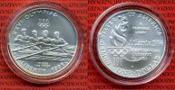 USA Olympische Spiele Atlanta 1 Dollar Commemorative Silber USA 1 Dollar Silber 1996 D Olympische Spiele Atlanta 1996 Rudern Rowing