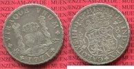 8 reales Silbermünze Wappen m. Säulen 1771 Mexico, Mexiko unter Spanien... 299,00 EUR  +  8,50 EUR shipping