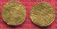 Niederlande Proviznialprägung Utrecht Dukat Goldmünze Niederlande Dukat 1656 Gold Provinz Utrecht interessante Verprägung