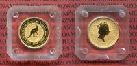 Australien 15 Dollars 1/10 Unze Gold Australien 15 Dollars Nugget, Känguruh 1/10 Unze Gold 1995