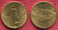 20 Dollars 1924 USA St. Gaudens Typ Double Eagle vz  1354,03 EUR1250,00 EUR