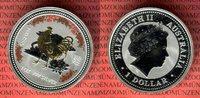 1 Dollar Silbermünze 2005 Australien Year ...