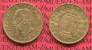 20 Lire goldmünze 1863 Sardinien Italien Vittorio  Emanuele II vz  249,00 EUR  + 8,50 EUR frais d'envoi