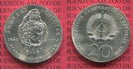 20 Mark Silbermünze DDR 1990 DDR 275. Todestag von Andreas Schlüter stg... 90,00 EUR  zzgl. 4,20 EUR Versand