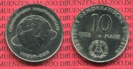 10 Mark 1978 DDR Gedenkmünze Erster Weltraumflug Sowjetunion und DDR pr... 10,00 EUR  + 8,50 EUR frais d'envoi