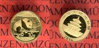 10 Yuan Goldmünze 2016 China Gold Panda auf Ast liegend Stgl. in Origin... 79,00 EUR  + 8,50 EUR frais d'envoi