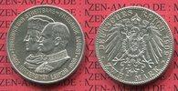 2 Mark Silber 1909 Sachsen Uni Leipzig, Friedrich August III. vz  59,00 EUR  + 8,50 EUR frais d'envoi